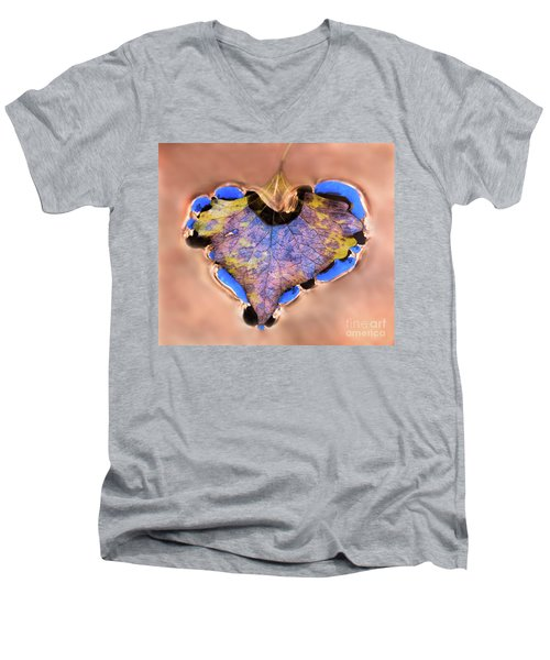 Heart Of Zion Utah Adventure Landscape Art By Kaylyn Franks Men's V-Neck T-Shirt