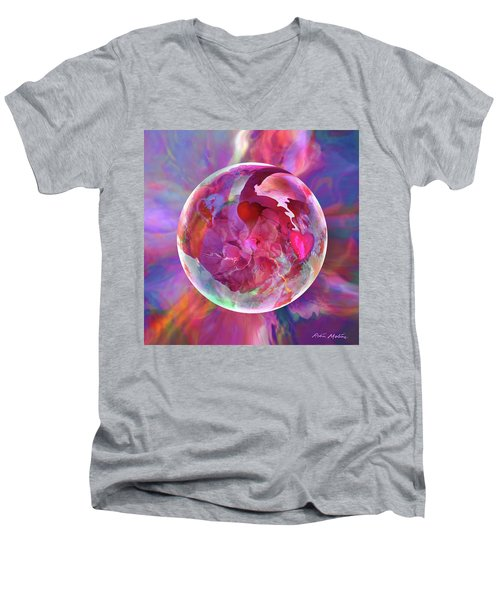 Hearts Of Space Men's V-Neck T-Shirt