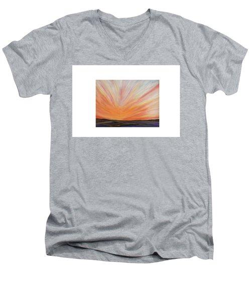 Heat On The Bay Men's V-Neck T-Shirt