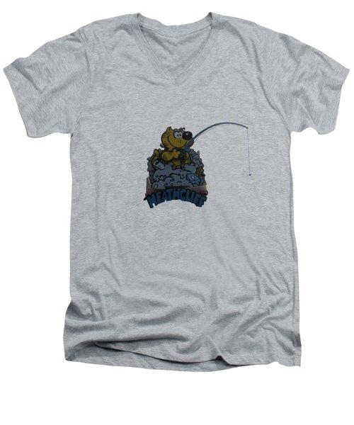 Heathcliff Men's V-Neck T-Shirt
