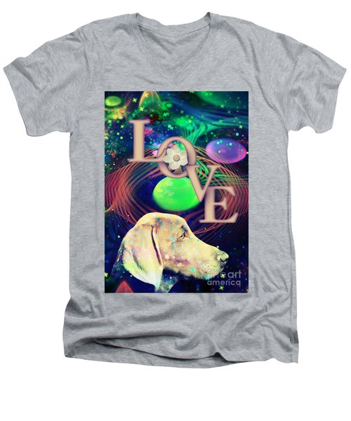 Heavenly Love Men's V-Neck T-Shirt