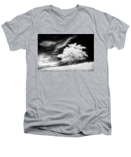 Heavenly Places Men's V-Neck T-Shirt by Dan Jurak