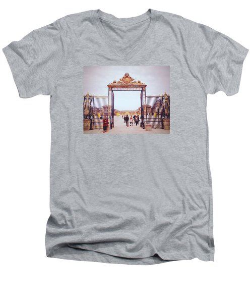 Heaven's Gates Men's V-Neck T-Shirt by Ashley Hudson