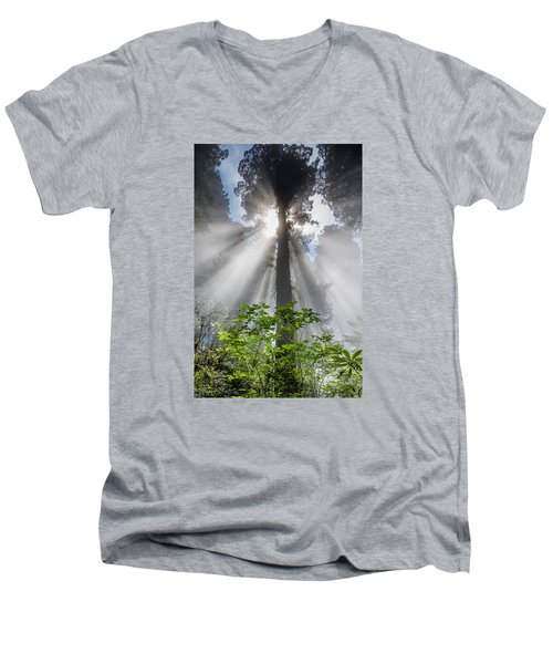 Heaven's Light Men's V-Neck T-Shirt