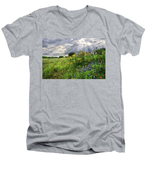 Heaven's Light  Men's V-Neck T-Shirt