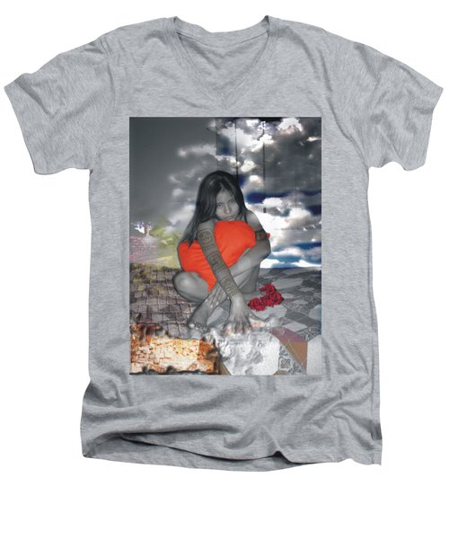 Hechicera Men's V-Neck T-Shirt