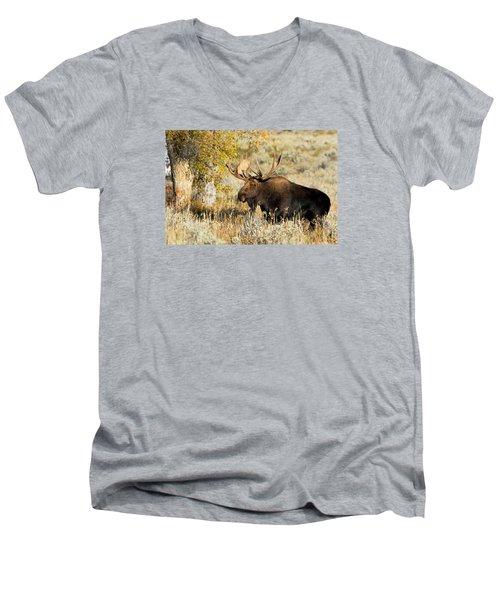 Heck Yeah Men's V-Neck T-Shirt