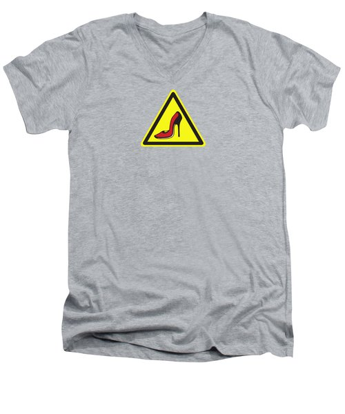 Heels Hazard Men's V-Neck T-Shirt