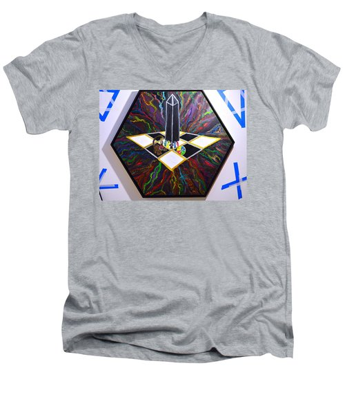 Hekati Belial Men's V-Neck T-Shirt