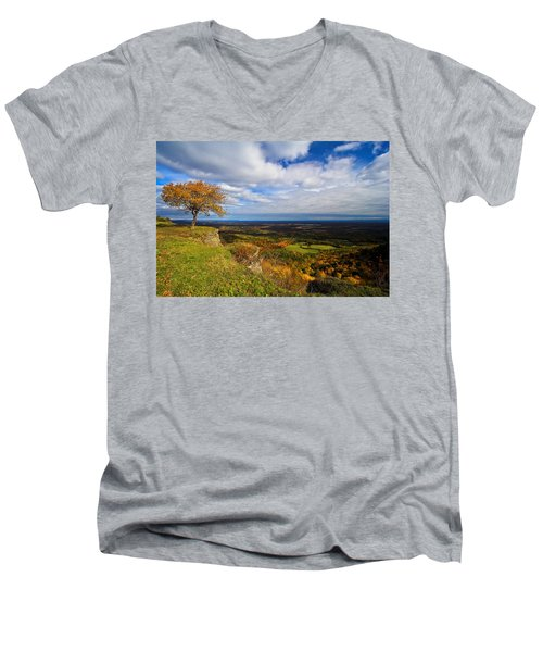 Heldeberg Fall Men's V-Neck T-Shirt
