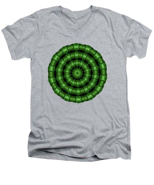 Helenite Healing Rings Men's V-Neck T-Shirt