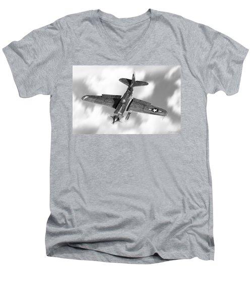 Helldiver Men's V-Neck T-Shirt