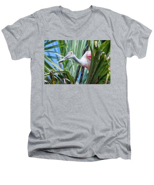 Hello Men's V-Neck T-Shirt