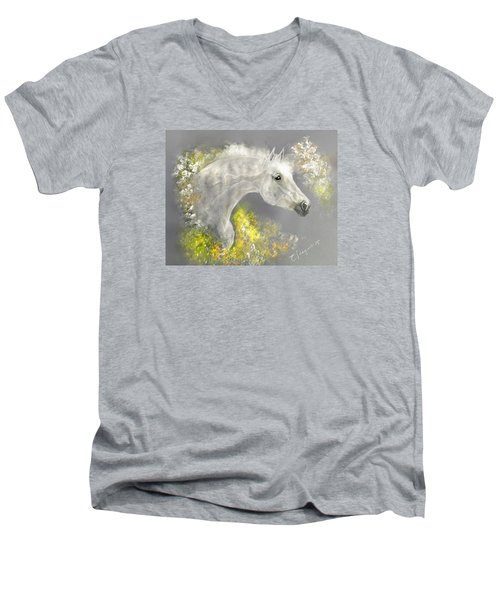 Hello Sun Men's V-Neck T-Shirt