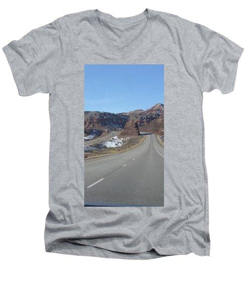 Hello Utah Men's V-Neck T-Shirt