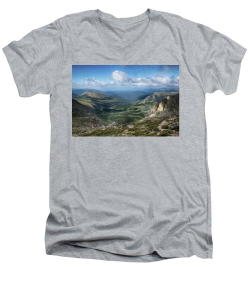 Helms Lake Valley 2 Men's V-Neck T-Shirt