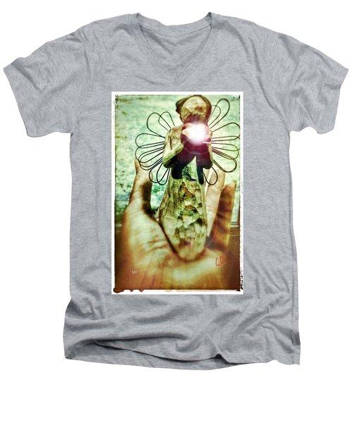 Helping Hand Men's V-Neck T-Shirt