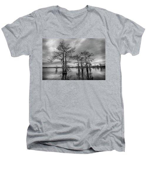 Henderson Swamp Wetplate Men's V-Neck T-Shirt