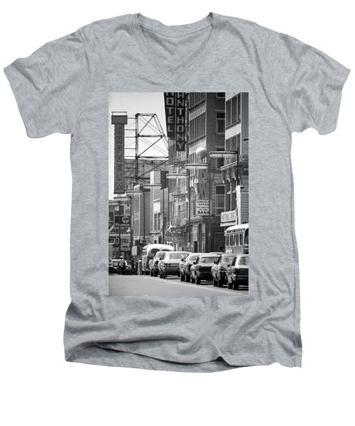 Hennepin And The Orpheum Men's V-Neck T-Shirt