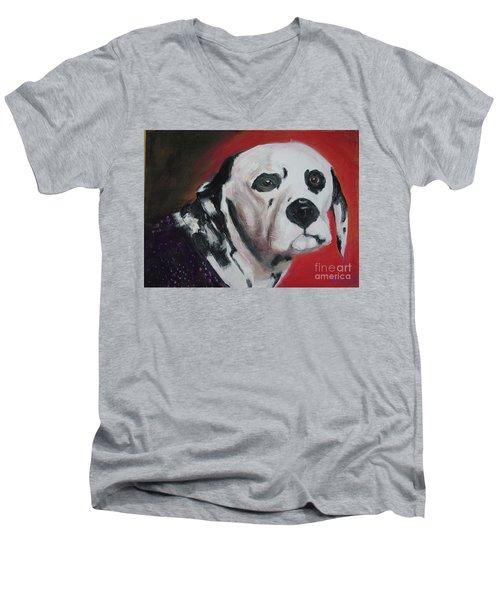 Henry Men's V-Neck T-Shirt by Lyric Lucas
