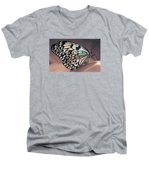 Her Heavenly Soul Men's V-Neck T-Shirt by The Art Of Marilyn Ridoutt-Greene