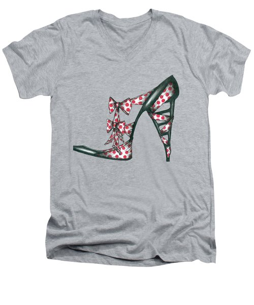 Her Shoe  Men's V-Neck T-Shirt
