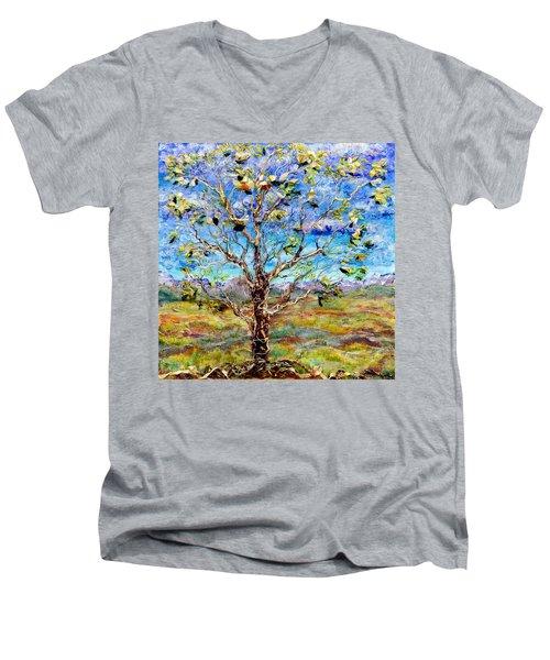 Herald Men's V-Neck T-Shirt