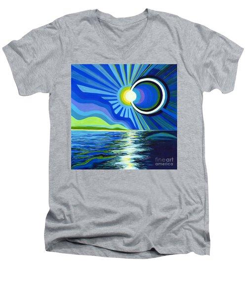 Here Come The Sun Men's V-Neck T-Shirt