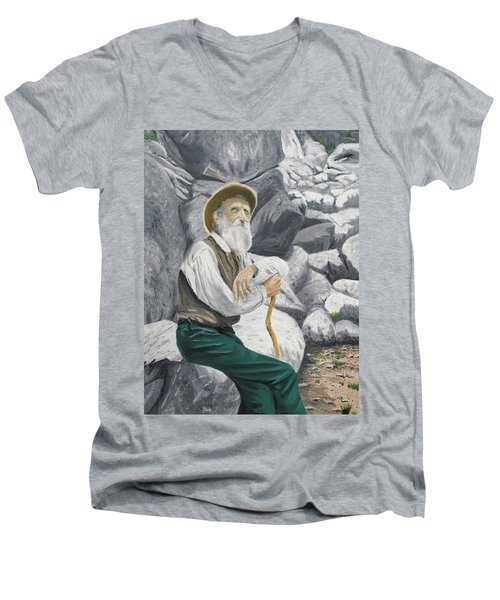 Hero Of The Land Men's V-Neck T-Shirt