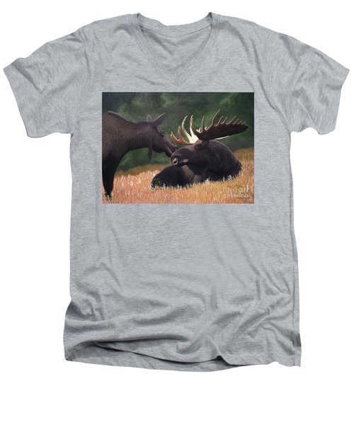 Hesitant Men's V-Neck T-Shirt