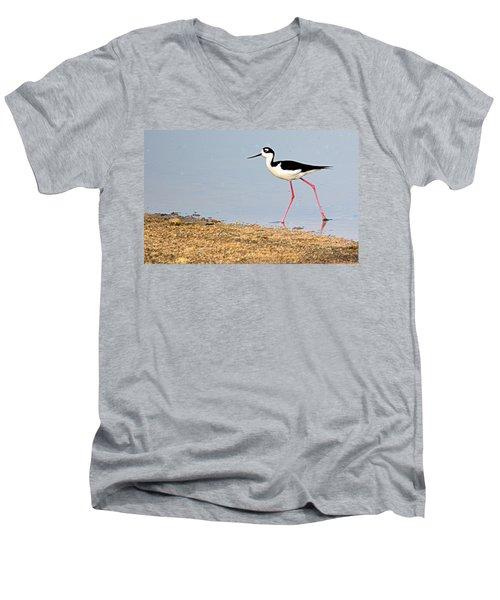 Hi-stepper Men's V-Neck T-Shirt