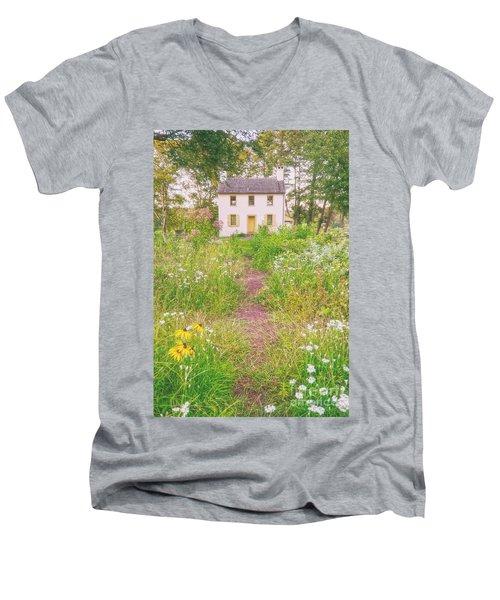 Hibbs House Men's V-Neck T-Shirt