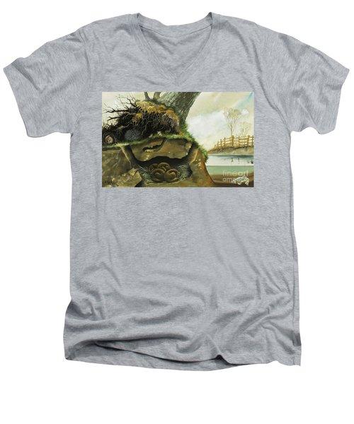 Hibernation Men's V-Neck T-Shirt