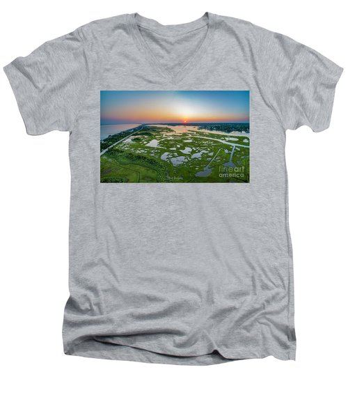 Hidden Beauty Pano Men's V-Neck T-Shirt