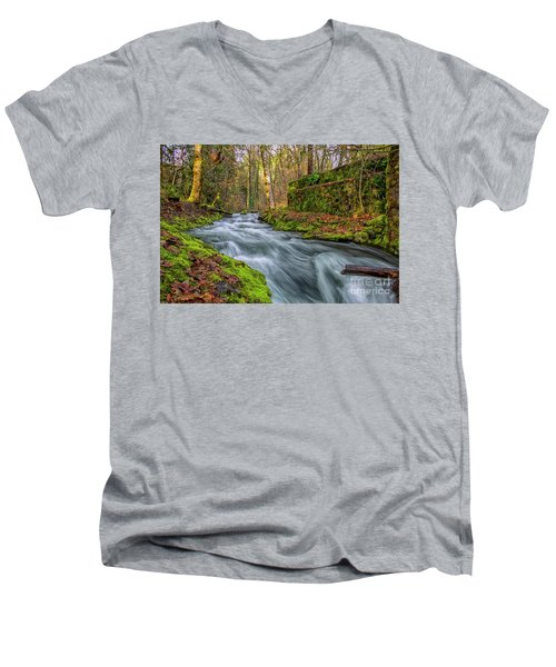 Hidden Creek Men's V-Neck T-Shirt