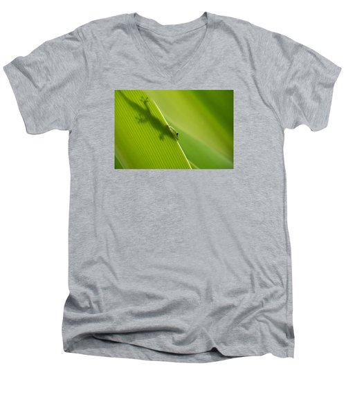 Hidden In Plain Sight Men's V-Neck T-Shirt by Christina Lihani