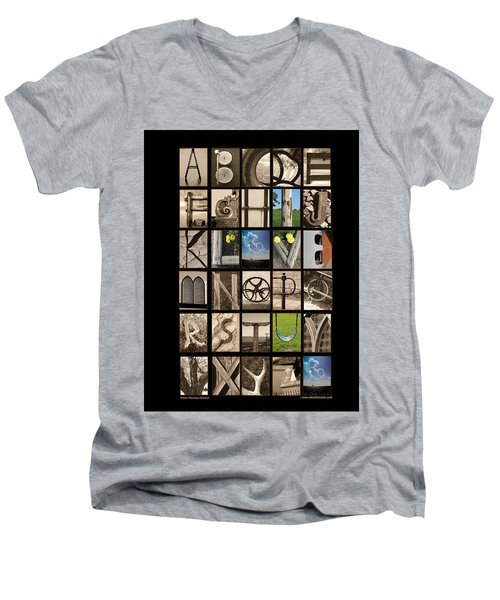 Hidden Message Men's V-Neck T-Shirt