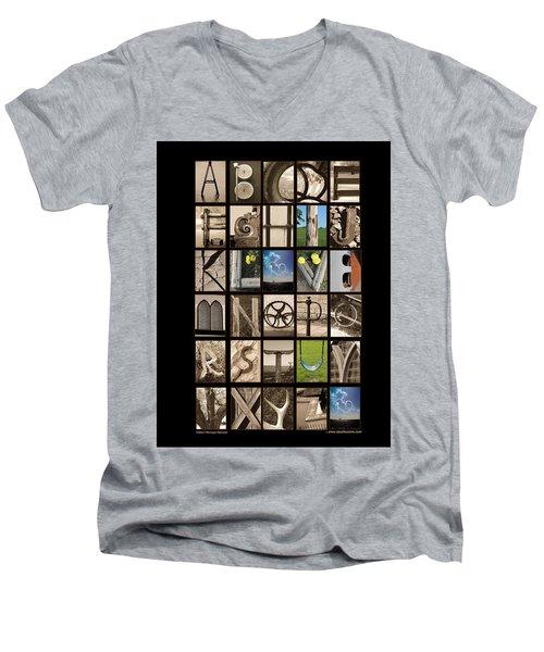 Hidden Message Men's V-Neck T-Shirt
