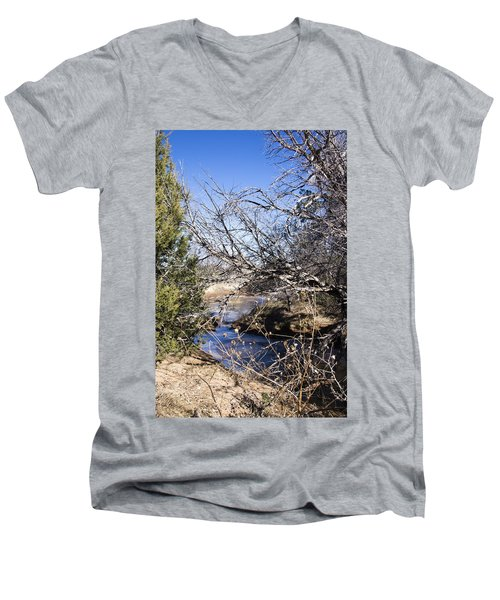 Hidden Swimming Hole Men's V-Neck T-Shirt