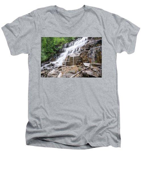 Hidden Waterfalls Men's V-Neck T-Shirt