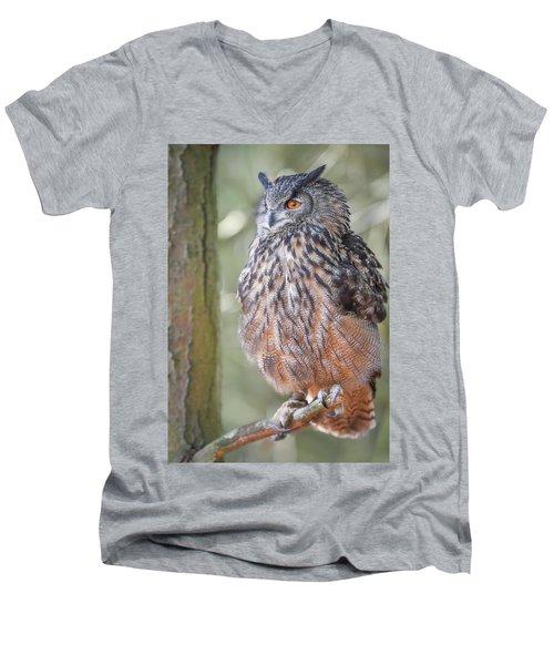 Hiding In The Trees Men's V-Neck T-Shirt