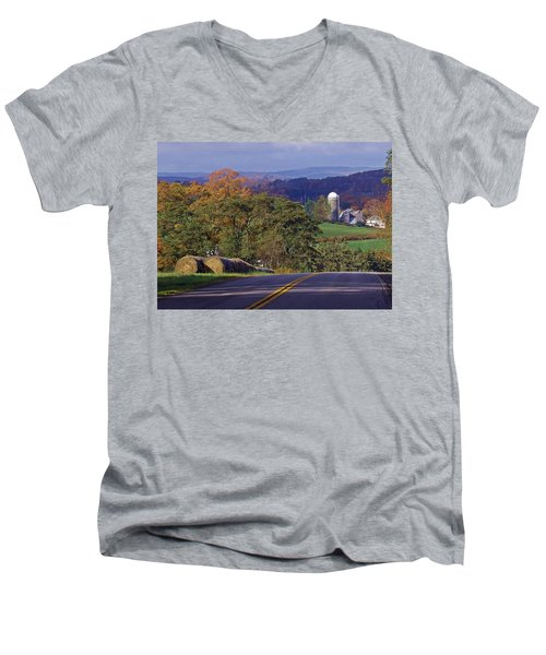 High Country Men's V-Neck T-Shirt