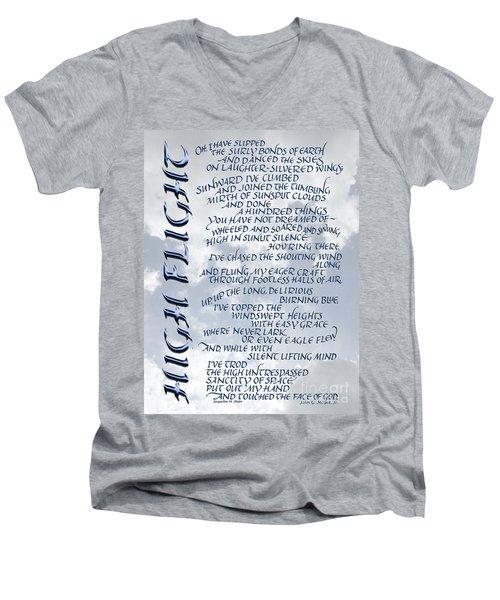 High Flight Men's V-Neck T-Shirt