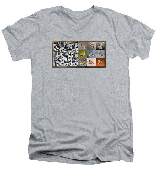 High Heel Study Men's V-Neck T-Shirt