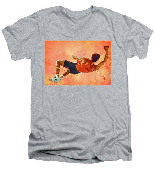 High Jumper Men's V-Neck T-Shirt