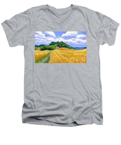 High Noon Tuscany  Men's V-Neck T-Shirt