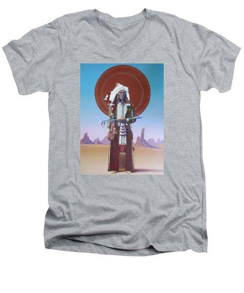 High Noon Men's V-Neck T-Shirt