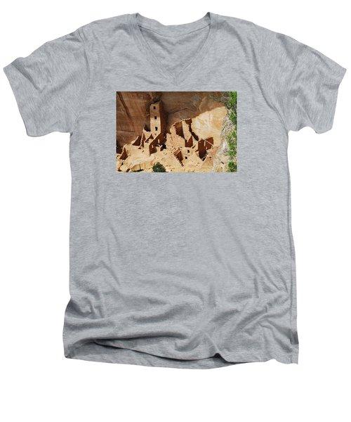 High Rise Livin Men's V-Neck T-Shirt