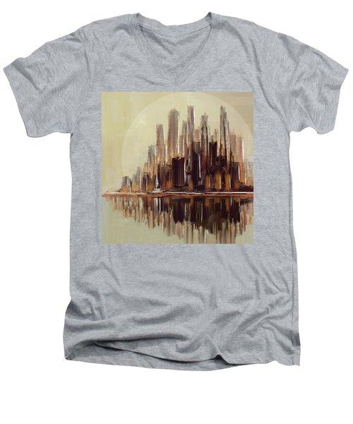 High Risers Island Men's V-Neck T-Shirt