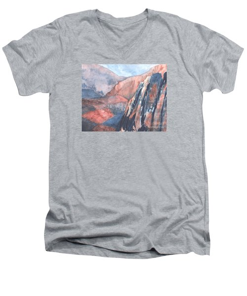 Higher Ground Men's V-Neck T-Shirt